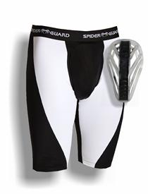 Spider Guard Compression Shorts With Web Flex Cup